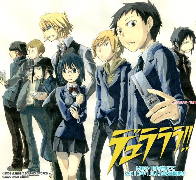 Durarara!! – Review: Um anime de uma Nova Geração!