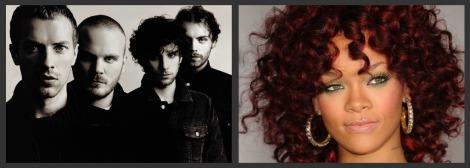 Coldplay e Rihanna