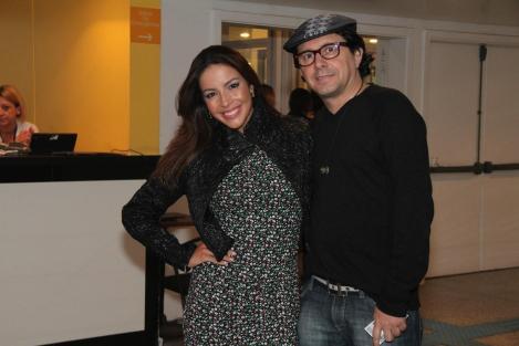 Renata Dominguez e o marido Edson Spinello