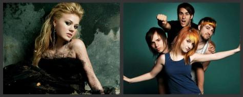 Kelly Clarkson e Paramore