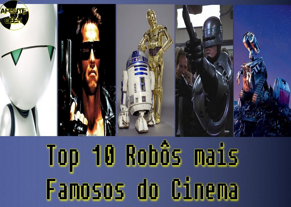 Top 10 Robôs mais Famosos do Cinema wall