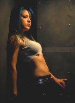 Alissa White Gluz que era do The Agonist e agora está no Arch Enemy.
