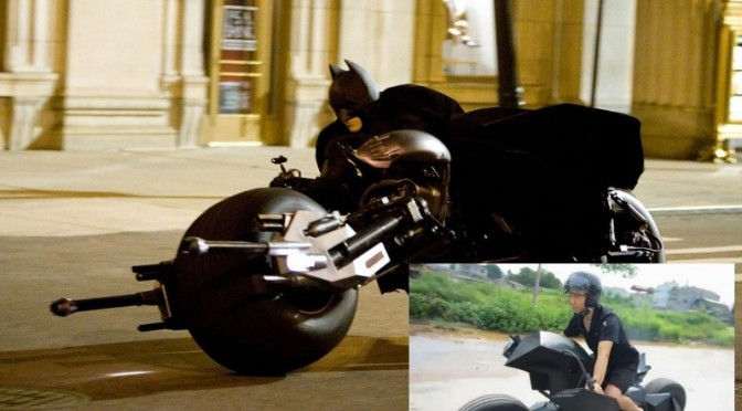 Batman: Moto do Filme na Vida REAL!