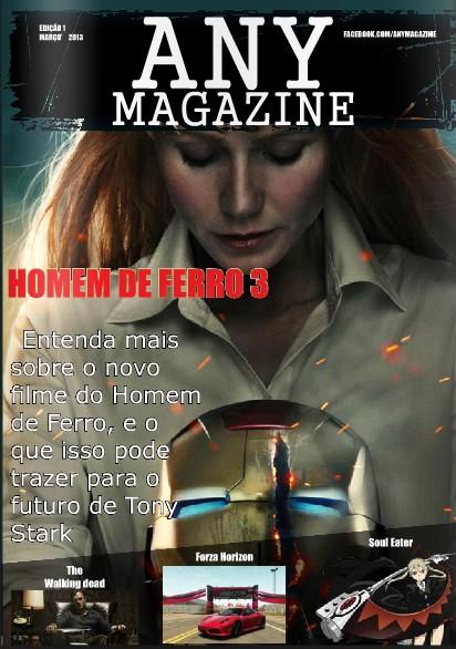 Any magazine 1º edição