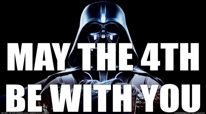 May the force – Dia de Star Wars (4 de Maio): Que a força esteja com você!