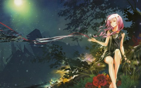guilty_crown inori wall