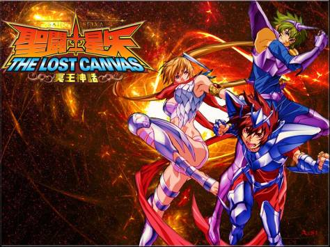 lost canvas oficial