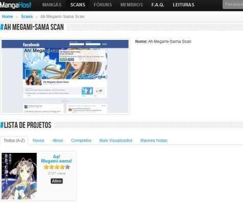 Ah Megami-Sama Scan - Mangá Host