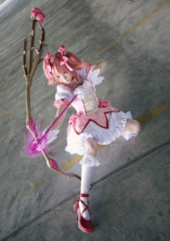Madoka Kaname (Puella Magi Madoka Magica), cosplayed by TraumaCentreGrrl, photographed by ducesa