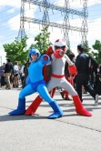 Mega Man e Proto Man, photographed by dangerous-ladies