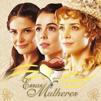 """""""Essas Mulheres"""" -- Novela da Record que conta com esses três livros de José de Alencar: Lucíola, Diva e Senhora. Eu Confesso que gostei viu, rs."""