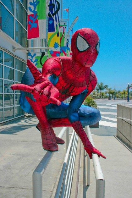 Spider-Man, cosplayed by MoonSpider, photographed by George F. Rosales Imagery