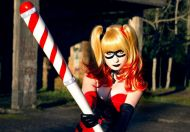 Harley Quinn Cosplay Giu Hellsing sexy linda 4
