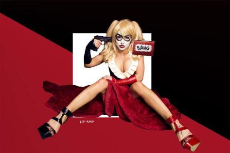 Liz Katz Cosplay Harley Quinn (EUA)