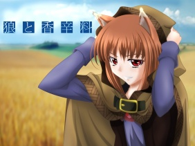 spice-and-wolf-nekomimi-holo-the-wise-wolf-HD-Wallpapers