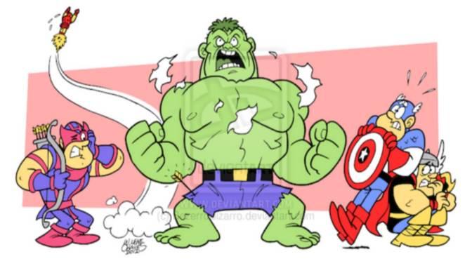 Brasileiro manda bem Desenhando Super-Heróis em situações Loucas!
