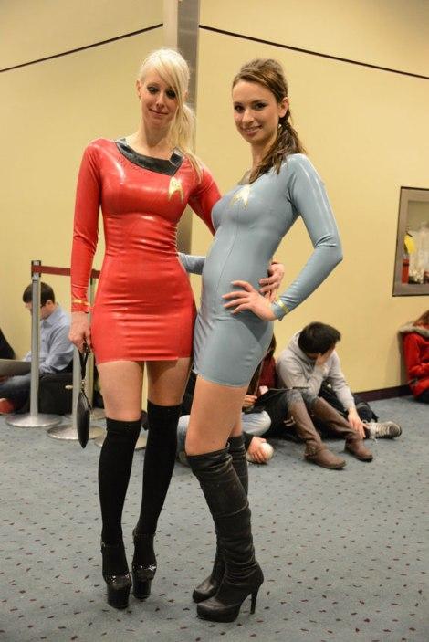 cosplay gostosas sexy ecchi star trek