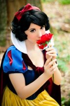 Cosplay Riki LeCotey branca de neve snow white pin up