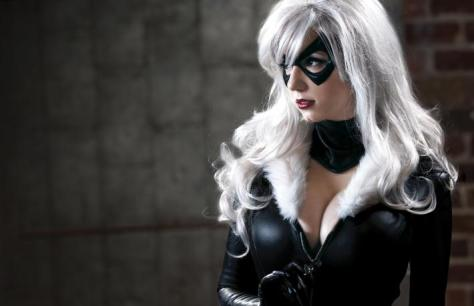 Cosplay Riki LeCotey gata negra sexy (2)