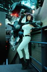 Cosplay Riki LeCotey ghost in the shell sexy