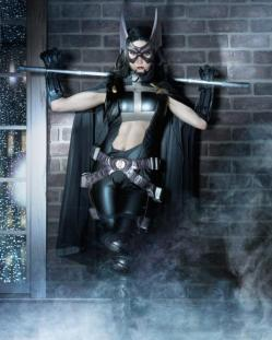 Cosplay Riki LeCotey Huntress Caçadora sexy (2)