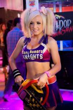 Jessica Nigri Cosplay Lollipop Chainsaw sexy E32012 (2)