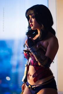 Chubear Cosplay Wonder Woman Mulher Maravilha (USA)