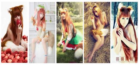 cosplay horo holo spice and wolf sexy wallpaper