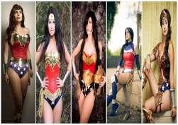 cosplay mulher maravilha wonder woman wall 1