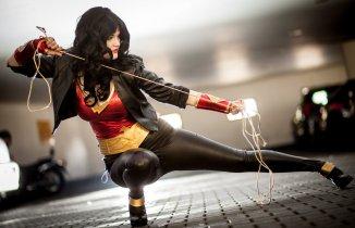 Cosplayer yossi Mulher Mavilha Wonder Woman (2)