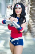 Jean Gomez cosplay wonder woman mulher maravilha gata