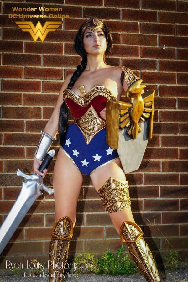 Joanna Mari Cosplay Wonder Woman Mulher Maravilha Sexy 3 Afontegeek