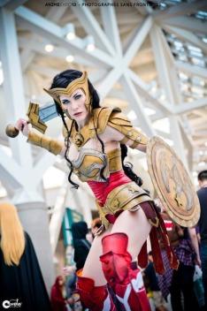 LadyLemon cosplay wonder woman mulher maravilha sexy gata (10)