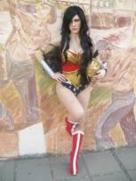 LadyLemon cosplay Wonder Woman (Argentina)