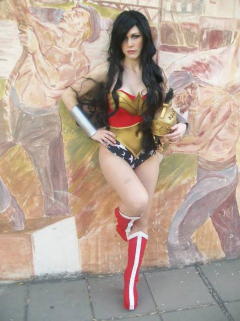 LadyLemon cosplay Wonder Woman (Argentina)