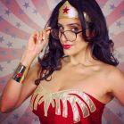 Valerie Perez wonder woman cosplay mulher maravilha 8