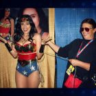Valerie Perez wonder woman cosplay mulher maravilha + grandaughter from wonder woman creator