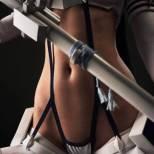 Kiryuin Satsuki cosplay sexy butt tits Jannet Incosplay Vinogradova kill la kill