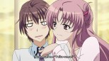 "Yuiko Amaha e o Protagonista ""por favor me chame de Yuiki-sensei sim?"" -- SIMMM!!!"