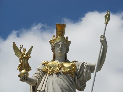 Athena pallas athena wall