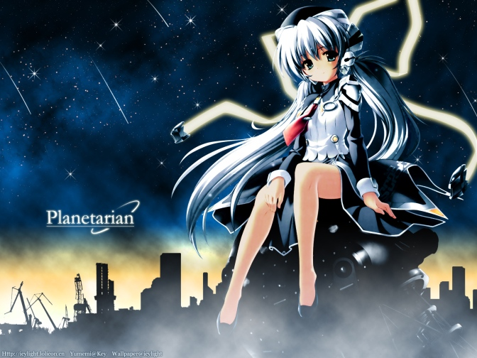 Planetarian: The Reverie of a little Planet (Review da Visual Novel) – Os sonhos que Movem a Humanidade