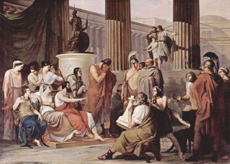 Ulisse alla corte di re Alcinoo