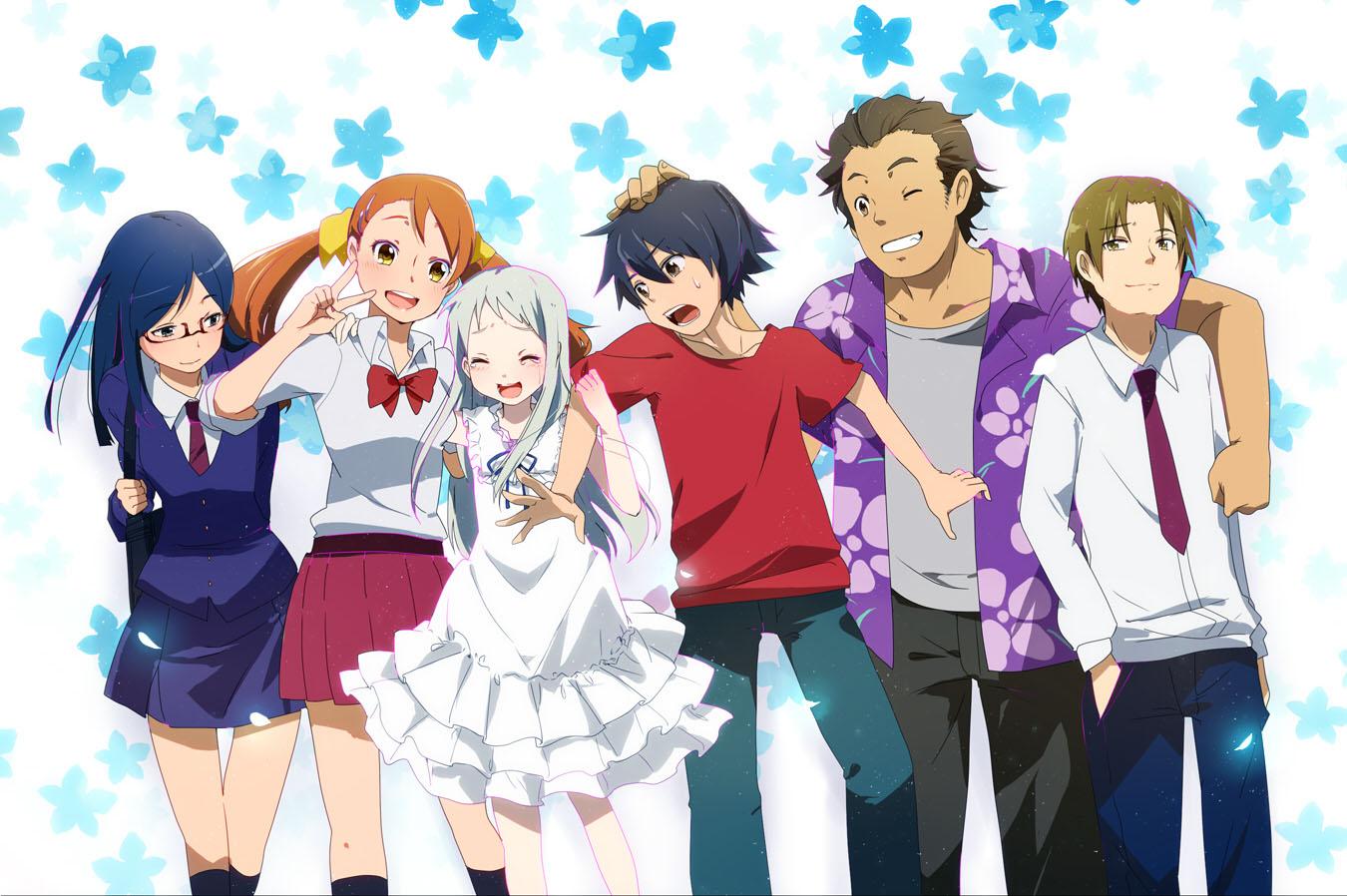 Ano Hana (2011) tem muitos elementos de Little Bustes, cuja Visual Novel é de 2007.
