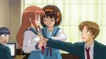 Coitadinha da (moe) Asahina... sofrendo da Haruhi de novo...