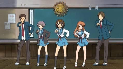Haruhi Suzumiya e a forte vontade de querer ser Moe, Irritante e No-sense, tudo ao mesmo tempo.