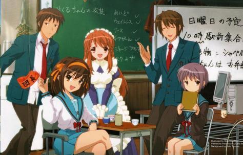 Não vou nem falar da pobre menina vestida de Maid numa sala de aula o.o