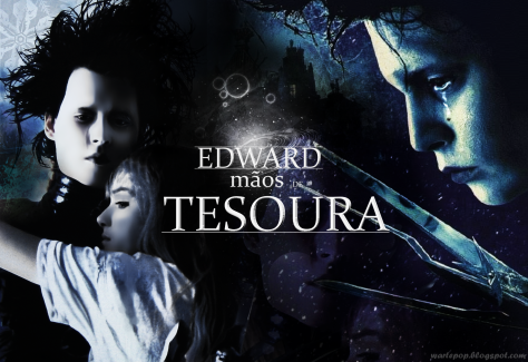 Wallpaper Edward Mãos de Tesoura