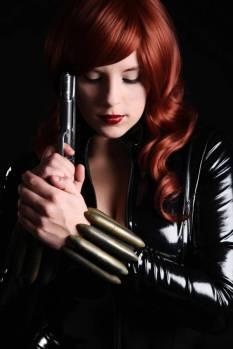 Alexia Jean Grey viuva negra cosplay gata 1