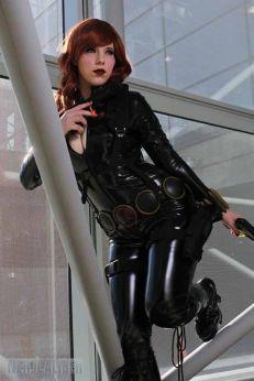 Alexia Jean Grey viuva negra cosplay gata 2