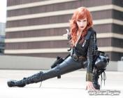 Alexia Jean Grey viuva negra cosplay gata 8